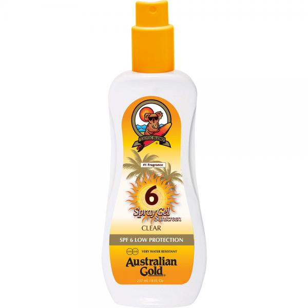 Australian Gold SPF 6 Spray Gel (237 ml)
