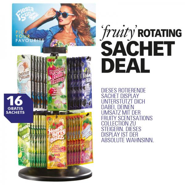Fiesta Sun Fruity Scentsations Rotating Display 2020