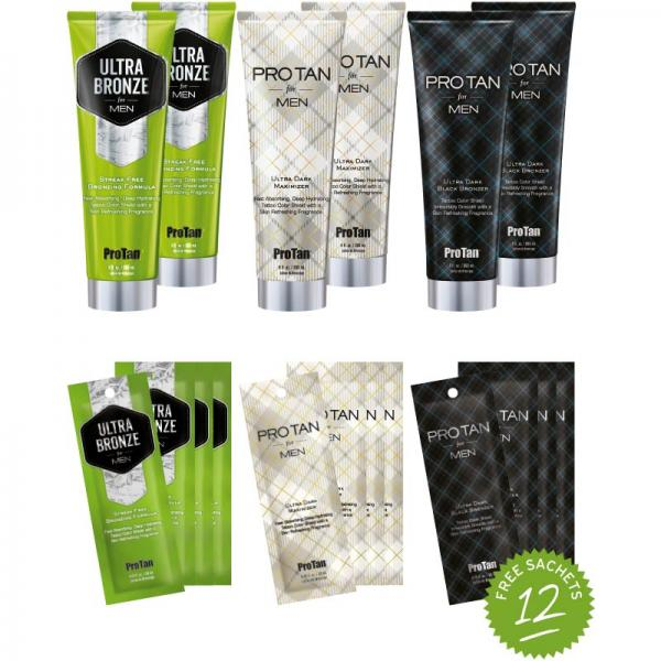 Pro Tan 'For Men Collection' Intro Kit 2019
